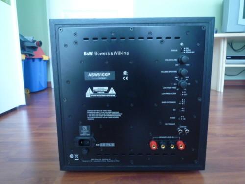 Сабвуфер B&W ASW 610 XP Black Ash: фото 2