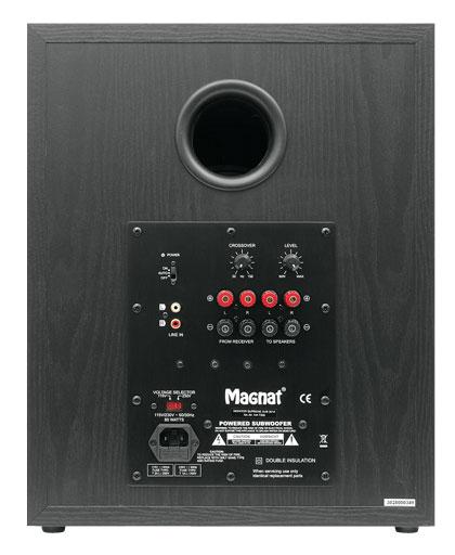 Сабвуфер Magnat Monitor Supreme Sub 302A black: фото 2