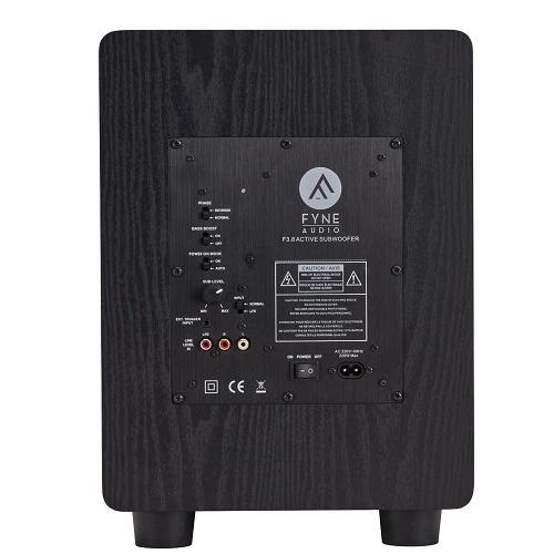 Сабвуфер Fyne Audio F3.8 SUB Black Ash: фото 4