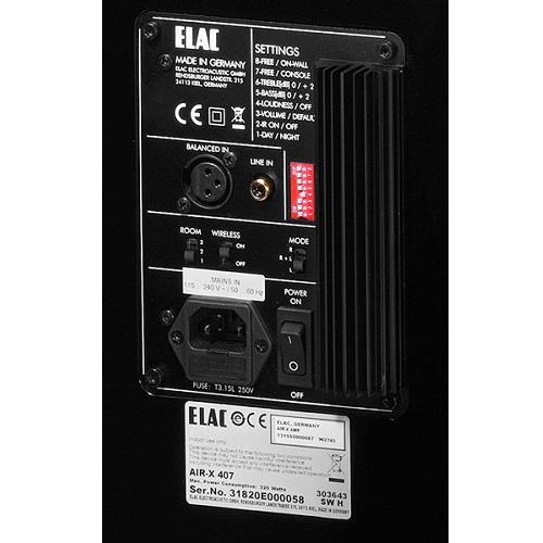 Акустическая система ELAC AIR-X 407 BL HG: фото 4