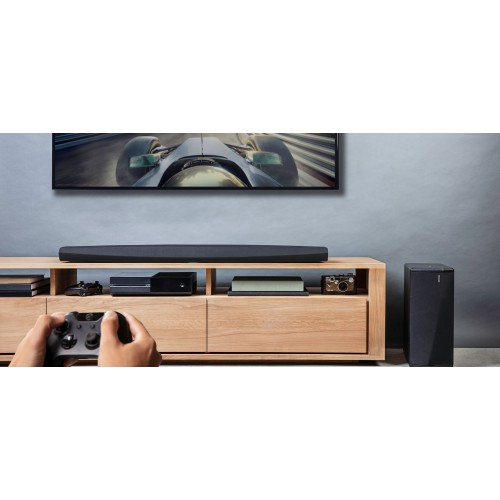 Звуковой проектор Саундбар с HEOS: Denon DHT-S716 Black: фото 4